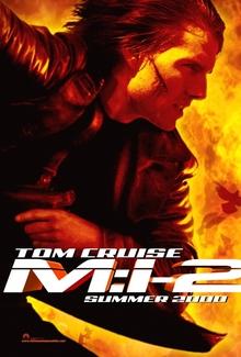 <cite>Mission: Impossible 2</cite> movie poster