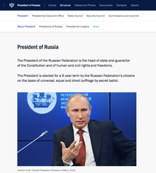 Official Internet Resources of the President of Russia