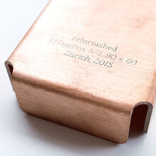 Copper storage boxes