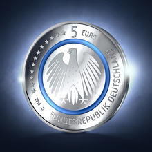 German 5-euro coin, 2016