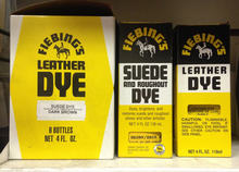 Fiebing's Leather Dye, Suede and Roughout Dye