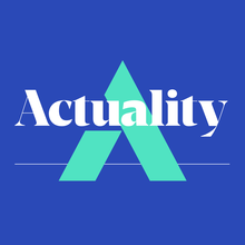 <cite>Actuality</cite> podcast logo