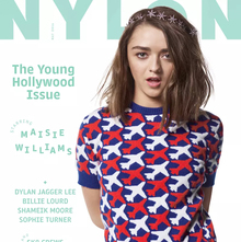 "<cite>Nylon</cite>, May 2016, ""The Young Hollywood Issue"""