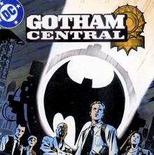 <cite>Gotham Central</cite> logo