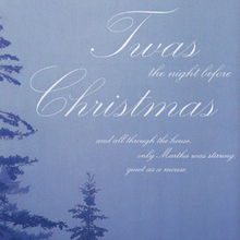 … the night before Christmas