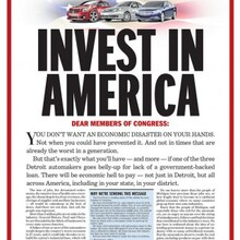 "<cite>Detroit Free Press</cite>: ""Invest in America"""