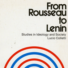 <cite>From Rousseau to Lenin</cite> book cover