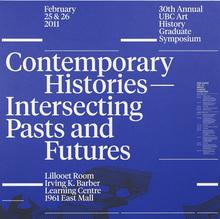 UBC Art History Graduate Symposium