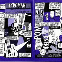 Typoman Comic