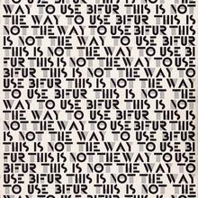 Bifur Typeface Specimen