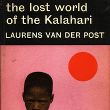 The Lost World of the Kalahari, Penguin 3'6 Book Cover