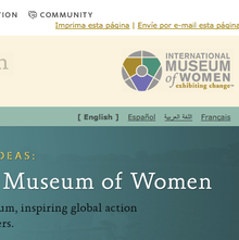 International Museum of Women website