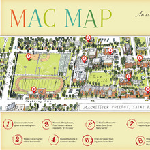 <cite>Macalester Today</cite> magazine features