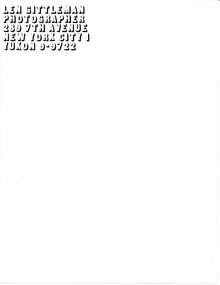 Len Gittleman letterhead