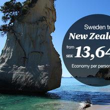 Air New Zealand web ads