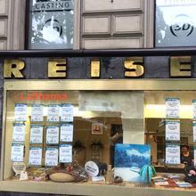 Reisebüro on Mehringdamm, Berlin