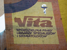 Mural for Vita medical cooperative, Wrocław