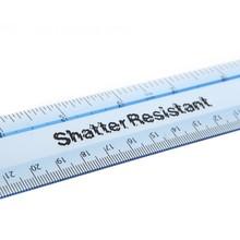 Helix shatter resistant ruler