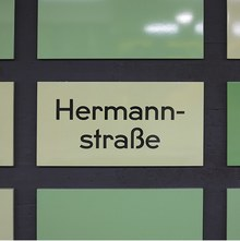 U8 Hermannstraße and Boddinstraße subway stations