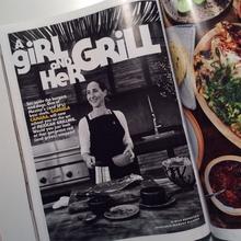 """<cite>Bon Appétit</cite> """"The Grilling Issue"""", June 2016"""