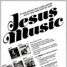 """Jesus Music"" ad for Myrrh Records"