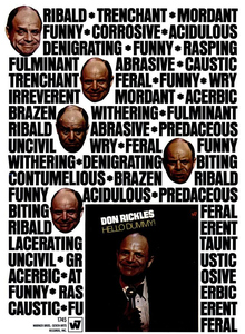 Ad for <cite>Hello Dummy!</cite> by Don Rickles