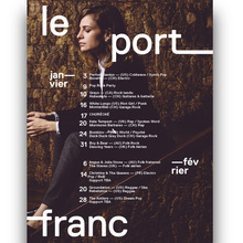 Le Port Franc: logotype and posters