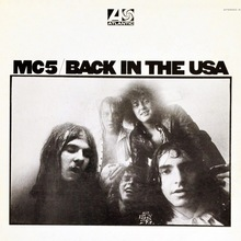 MC5 – <cite>Back in the USA</cite> album cover
