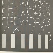 """FIREWORKS"" TV news graphic"