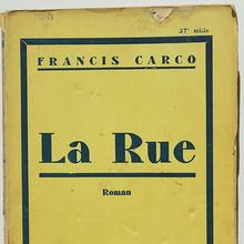 Francis Carco edition, Albin Michel (1930s)