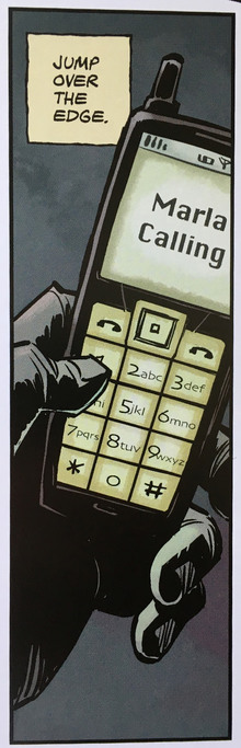 <cite>Fight Club 2</cite>: Nokia phone