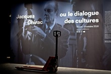 Jacques Chirac at Musée du Quai Branly
