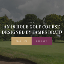 The Mere Golf Resort & Spa website
