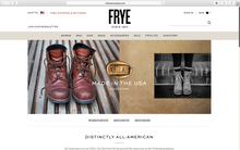The Frye Company website