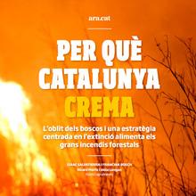 """""""Per Què Catalunya Crema"""" feature for Ara.cat"""