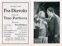 <cite>Fra Diavolo</cite> movie leaflet