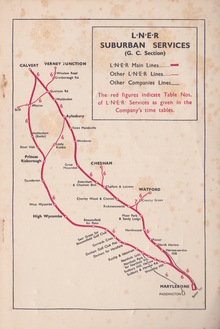 """""""Rambles in …"""" series, London and North Eastern Railway"""