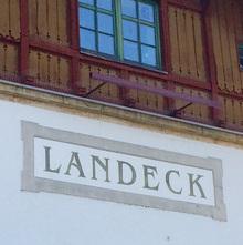 Bahnhof Landeck-Zams