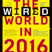 "<cite>Wired</cite> (UK) magazine, ""The Wired World"" 2015, 2016"