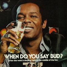 "Budweiser ads: ""When do you say Bud?"""