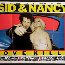 <cite>Sid & Nancy – Love Kills</cite> movie posters