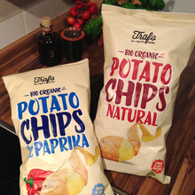 Trafo organic potato chips