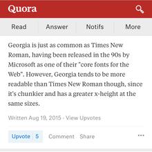 Quora mobile site
