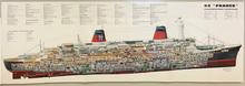 SS France: Croisière de Europe, 1969