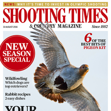 <cite>Shooting Times & Country Magazine</cite>, 31 Aug 2016