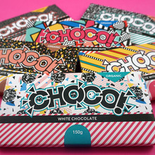 CHOCO packaging and branding