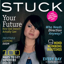 <i>Stuck</i> – mock magazine for NewSpring Church