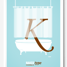 Naked Type Poster
