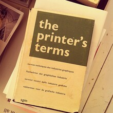 The Printer's Terms, 2nd Edition