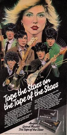 Ampex Casette Tape Ad